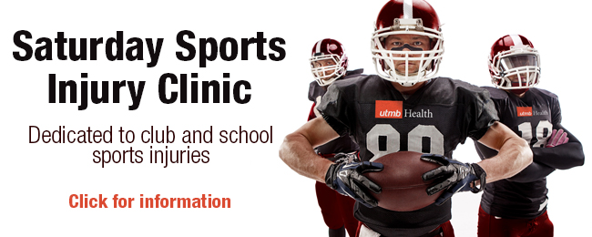 image for saturday sports injury clinic